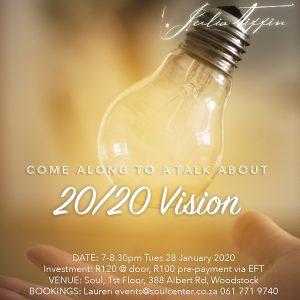 Talk about 20/20 Vision @ Soul