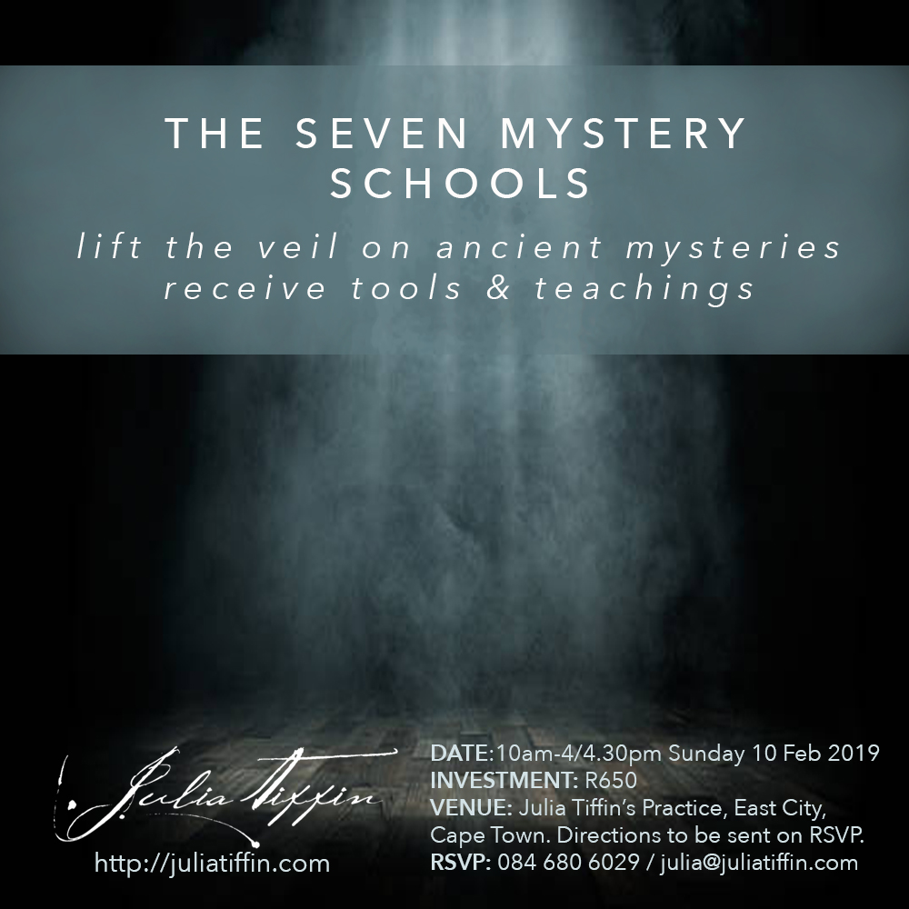 The Seven Mystery Schools CAPE TOWN @ Julia Tiffin's Practice | Cape Town | Western Cape | South Africa