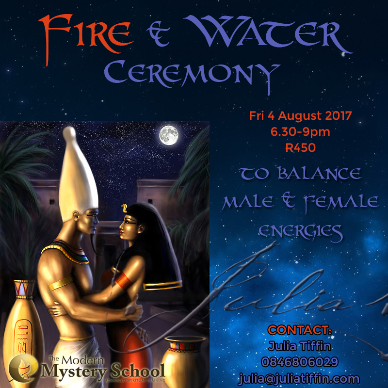 Ancient Egyptian Fire & Water Ceremony @ TBC | Cape Town | Western Cape | South Africa