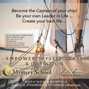 Empower Thyself Class & Initiation UGANDA @ Mocha Apartments | Kampala | Central Region | Uganda
