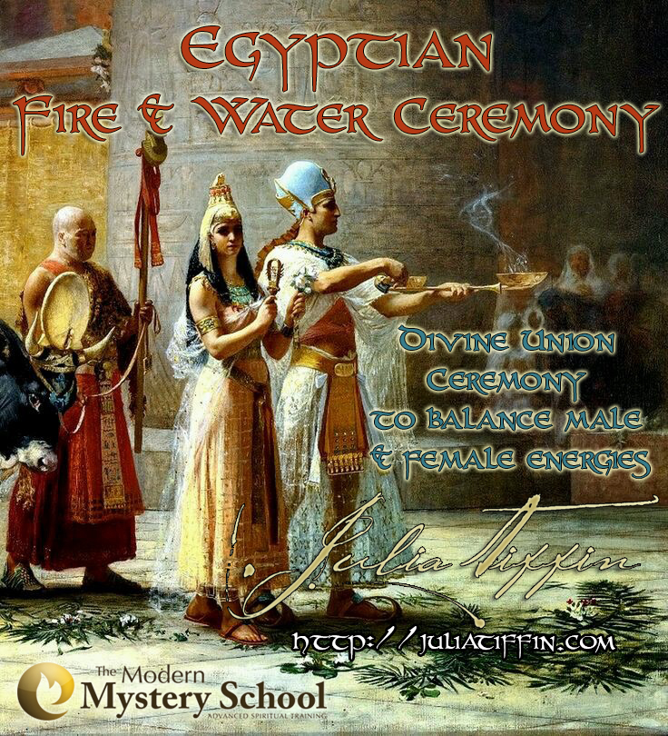 Ancient Egyptian Fire & Water Ceremony @ To be confirmed
