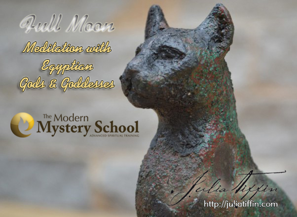 FULL Moon Meditation with Egyptian Gods & Goddesses with Julia Tiffin MMS 02