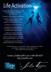 Life Activation Flyer - Julia Tiffin - web