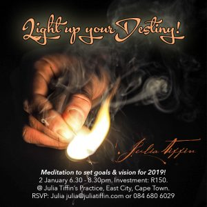 Light up your Destiny @ Julia Tiffin's Practice, East City, Cape Town | Cape Town | Western Cape | South Africa