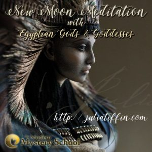 New Moon Meditation with Egyptian Gods & Goddesses @ Julia Tiffin's Practice | Cape Town | Western Cape | South Africa