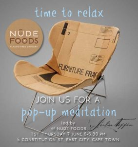 Pop-up meditation NUDE FOODS 01