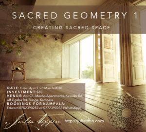 Sacred Geometry 1 UGANDA @ Mocha Apartments | Kampala | Central Region | Uganda