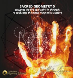 Sacred Geometry 5 Class - Fire Soul Activation! @ Julia Tiffin's Practice | Cape Town | Western Cape | South Africa