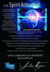 Spirit Activation Flyer - Julia Tiffin - web