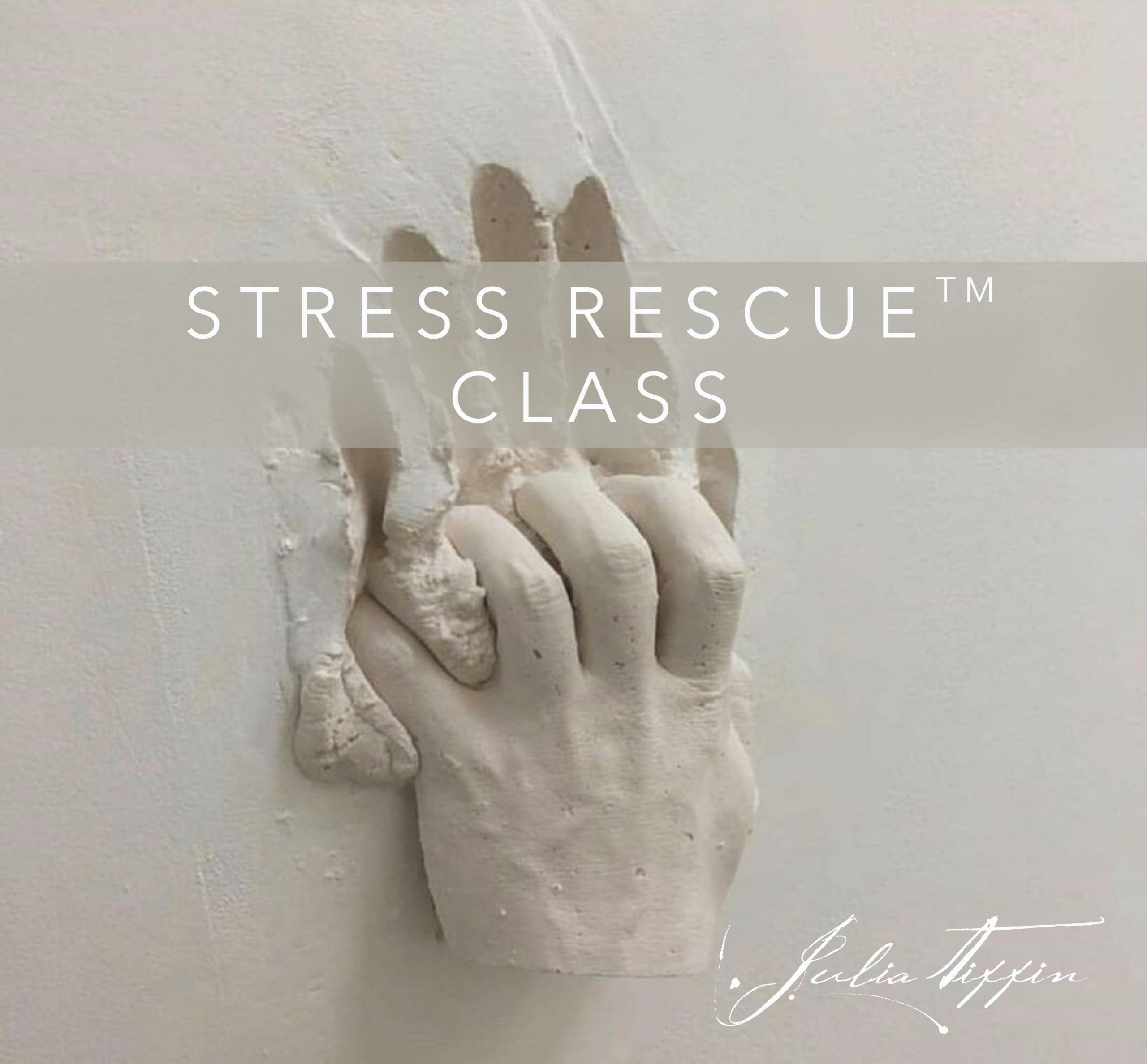 Stress Rescue™ Class @ Julia Tiffin's Practice @ The Vat House in Vauxhall